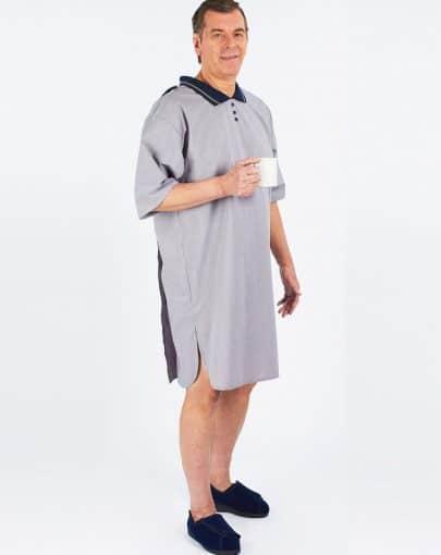 chemise-de-nuit-adaptee-en-poly-coton-style-polo