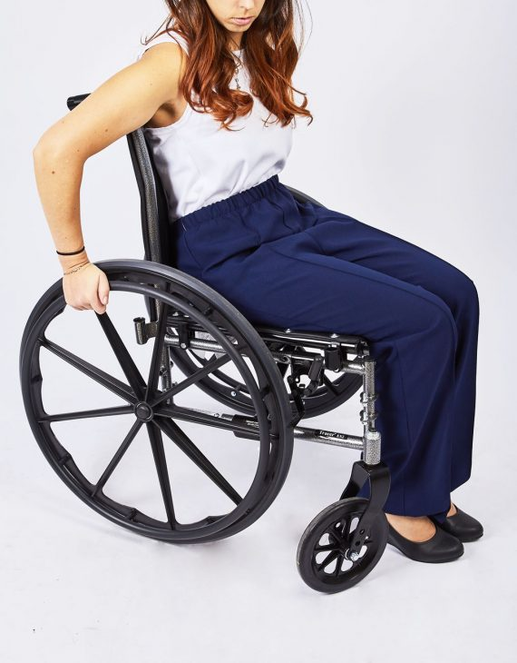 Pantalons femmes sans fond adaptés