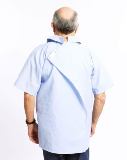 chemise-adaptee-en-polycoton-a-manches-courtes-HB54559-354-Back