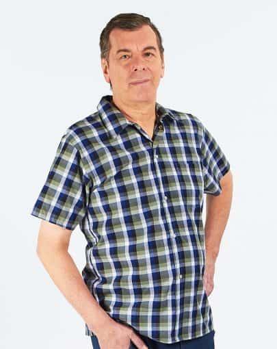 chemise-adaptee-en-polycoton-a-manches-courtes-HB54559-367