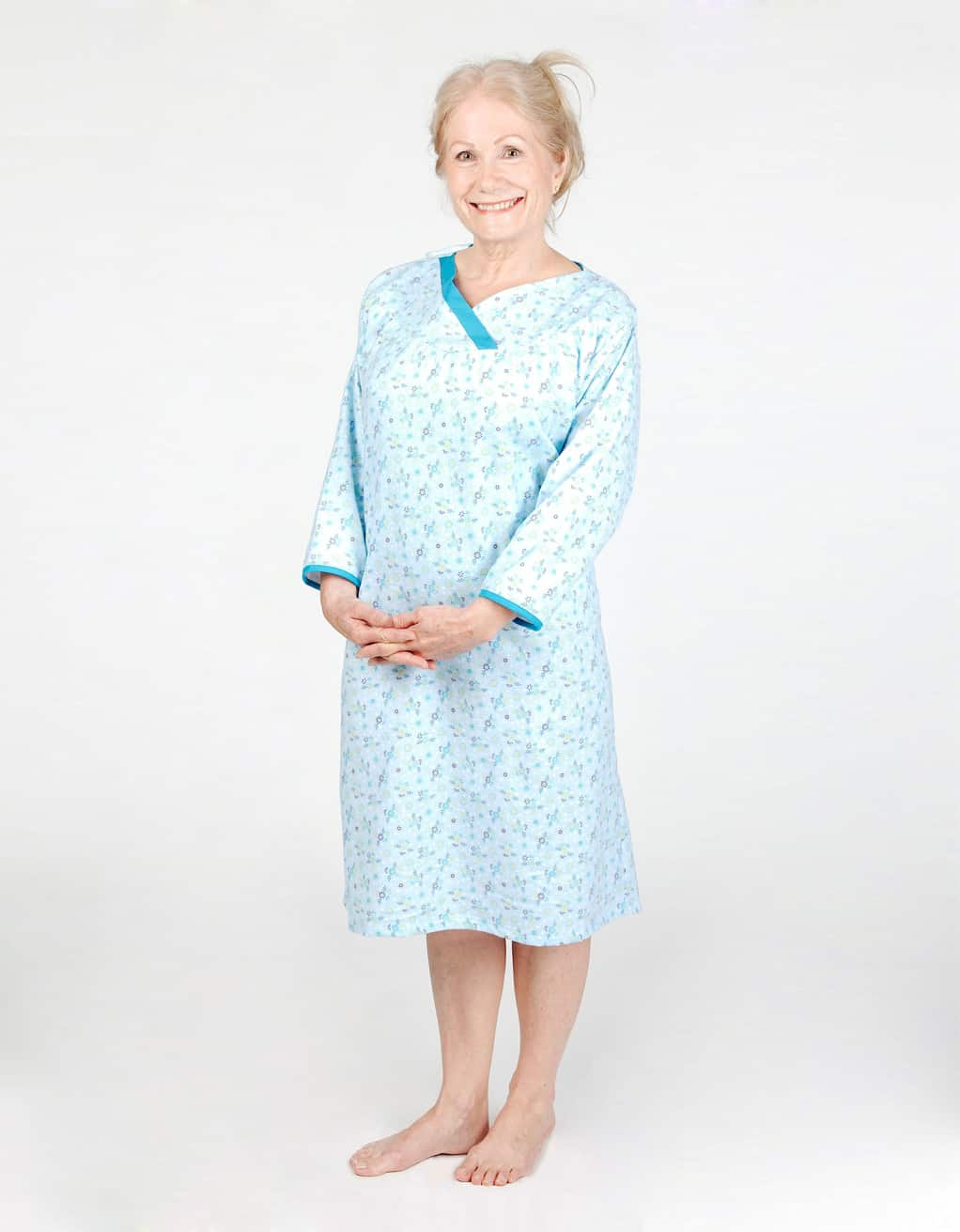 Patterned adaptive nightgown 25d4d54a5