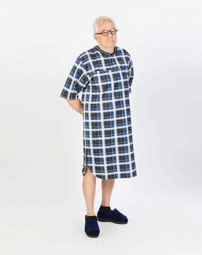 chemise-de-nuit-adaptee-en-coton-style-polo-HN16017-F