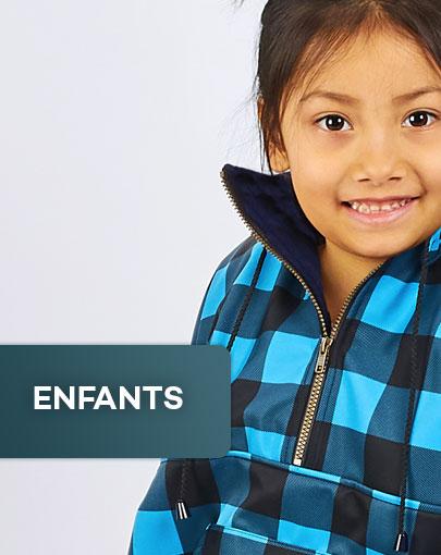 Vêtements adaptés pour enfants