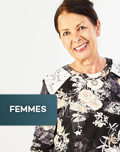 Vêtements adaptés pour femme