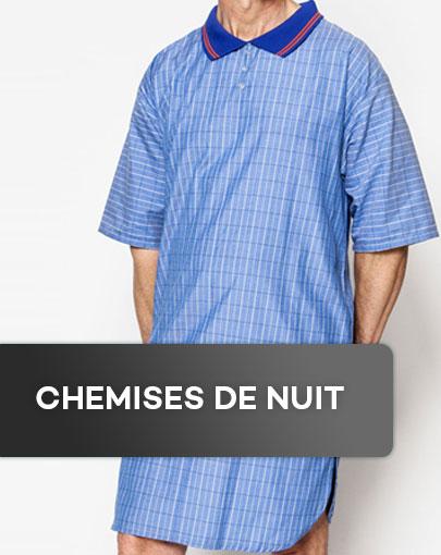 Chemises de nuit adaptées