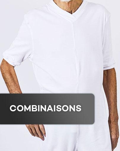 Combinaisons adaptées