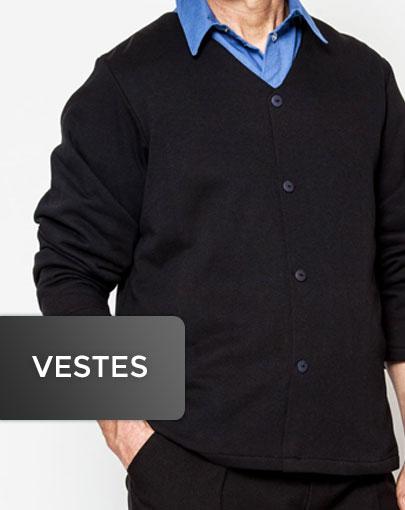 Vestes adaptées