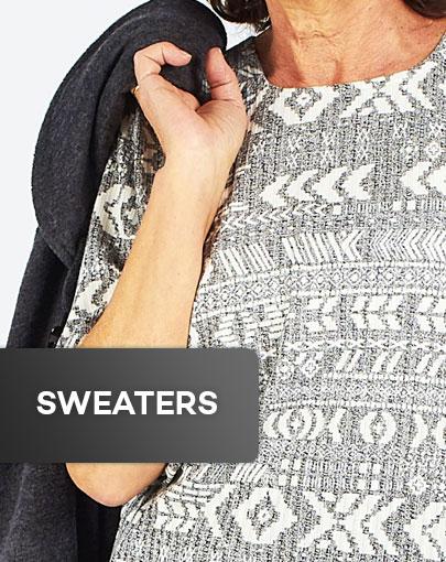 Adaptive sweaters