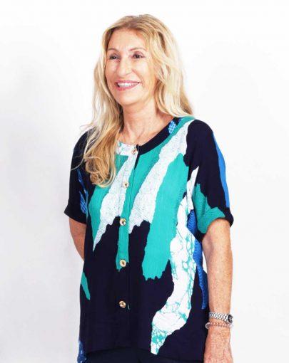 blouse-adaptee-Léna-ete-2019-FB92739-104-marine-et-turquoise