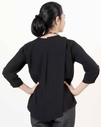 blouse-adaptée-flora-automne-hiver–2019-2020-FB04669-267-noir-dos-fermé