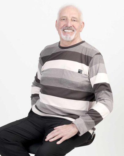 t-shirt-adapté-homme-automne-hiver–2019-2020-HB84360-307-kakhi-ligné