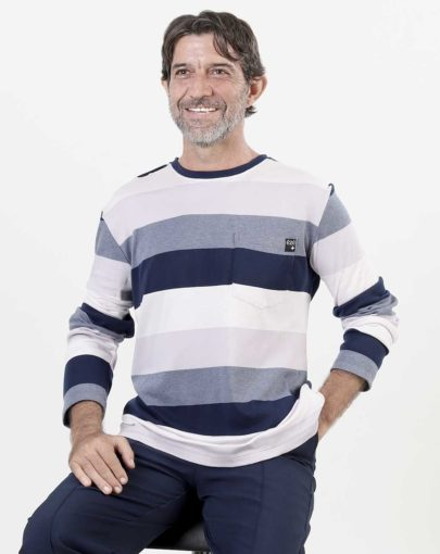 t-shirt-adapté-homme-automne-hiver–2019-2020-HB84360-308-marine-ligné