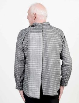chemise-adaptée-homme-automne-hiver--2019-2020-HB54559-323-noir-dos-ouvert